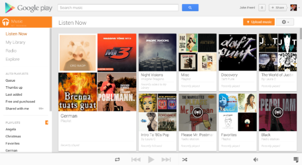 google play music my library is empty