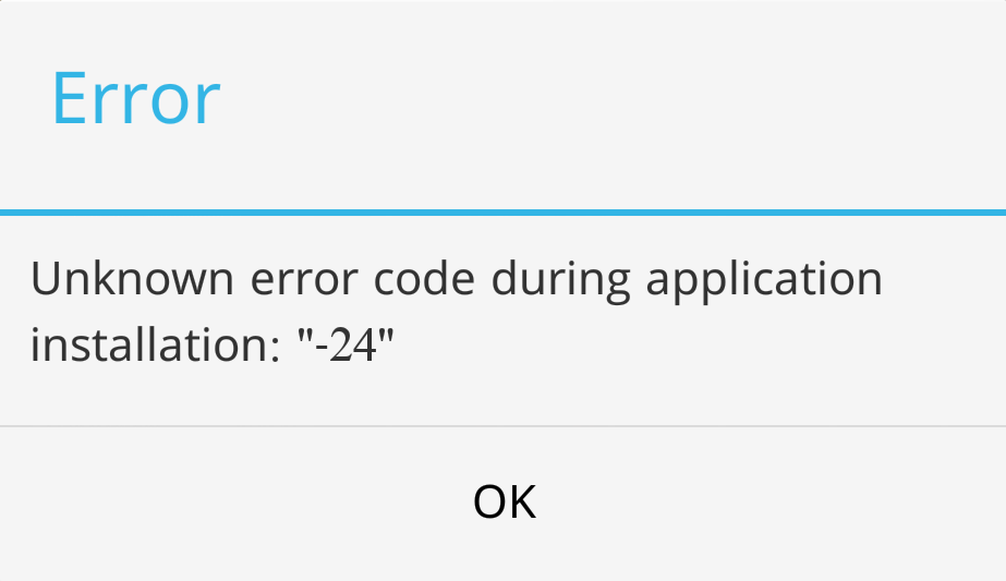 Android Fix: Error 24 during app installation in Google Play ...