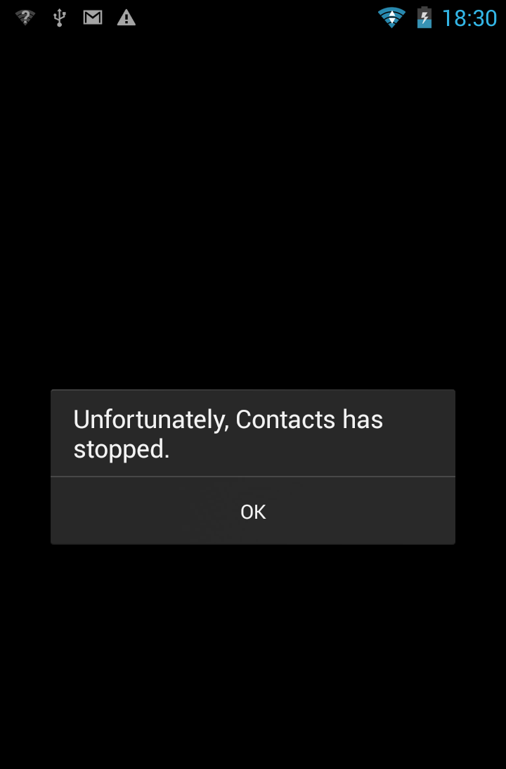 Phone Htc One Com.android.phone Has Stopped Unexpectedly how to fix unfortunately contacts has stopped error on android appslova com