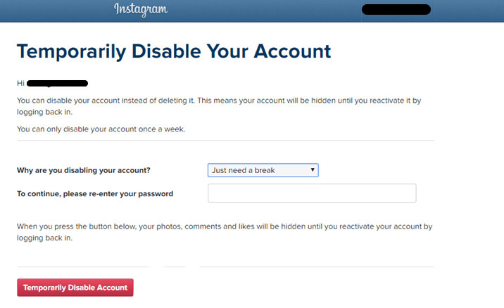 How to delete your instagram account appslova how to delete your instagram account ccuart Choice Image