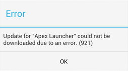 How to fix android error 921 in google play store.