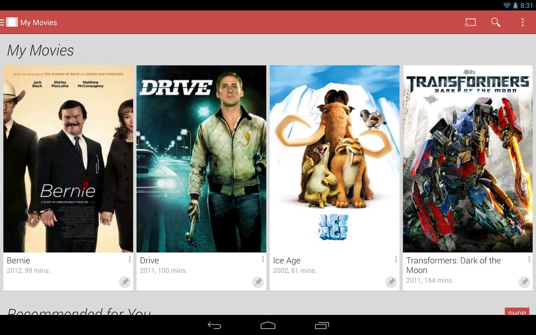 google play movies - AppsLova com