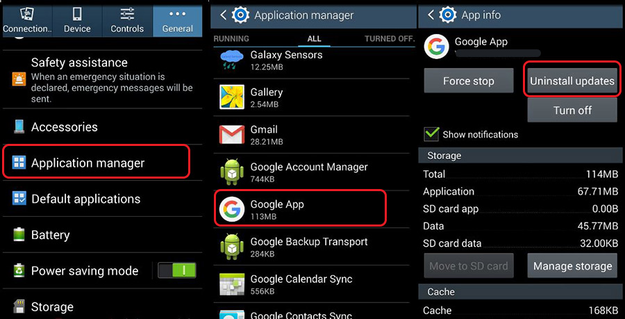 How To Uninstall App Updates Android How to Uninstall App