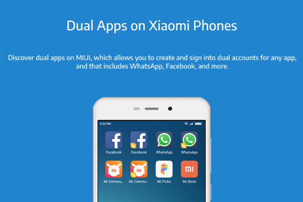 HOW TO USE DUAL APPS FEATURE IN XIAOMI SMARTPHONE?